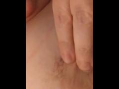 DD self breast play