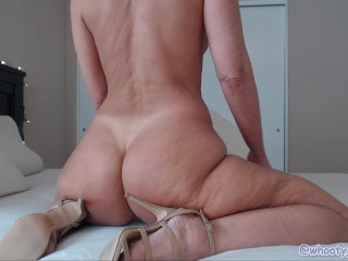 Davids Strip N Ass Tease Strappy High Heels Ass Worship by Jess Ryan