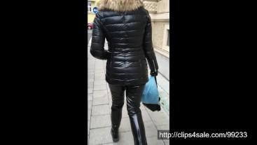 Creak PVC trousers