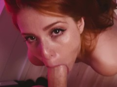 Big ass Teen dances Funk and gives a Blowjob for Facial ~ Maru Karv