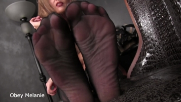 My feet own you