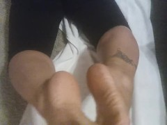 Mexican friend thick soles sprayed