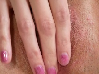TIGHT CREAMY PUSSY, DRIPPING WET, TRYING TO SQUIRT WITH TOYS AND ANAL PLUG