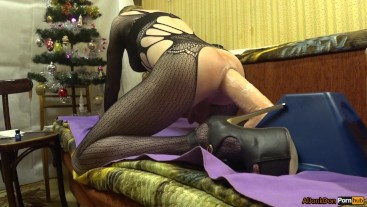 New Year Riding dildo, Pipedream King Cock with Balls, 12 Inch