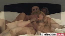 Digital Playground - Hot blonde con artist Kayden Kross can work a cock