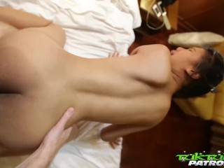 Tuk Tuk Patrol – Thai cutie with huge perky nipples fucked by white cock