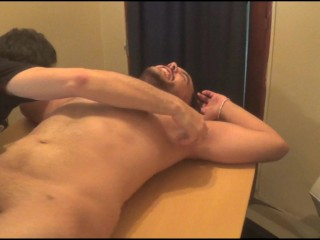 Xavier mummified and tickled naked (preview)