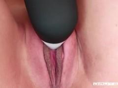 DAUTEAPA - ASMR Tattooed Teen Plays Nasty With Her Pussy