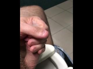 Quick public masturbation messy ruined orgasm