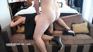 Miss Ania with her tight pussy fucked hard at hotel POV