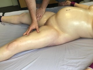 Slut Sticker Bound Pregnant Girl Massaged And Played With - Massage2018
