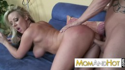 Naughty nymph MILF Carolyn Reese