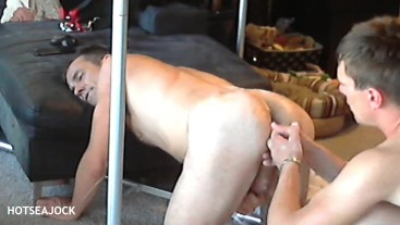 Hot Daddy Butt Fingered By College Sophomore