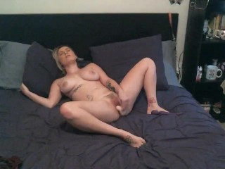 Watch Cara May Fuck Herself As She Talks Dirty To You And Asks You To Cum!