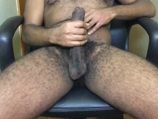 Failed edging session ends in lots of cum