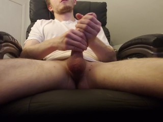 Milking My Huge Cock For A Massive Cum Load