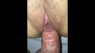 Creamy pussy cum