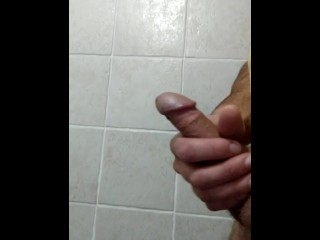 Jerking off while my gf is in the next room