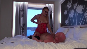My Daddy fucked me good and hard on a sex cruise (2 cameras version)