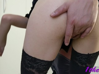 Hope Nobody saw.we fuck in office .risky Amateure couple