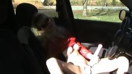 Public Masturbation in Parked Car