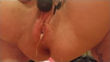 Super Creamy HUGE Squirting Orgasm