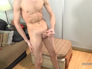 Latin Twink Swan Jerking Off