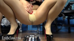 Our golden nectar, right through pantyhose Preview