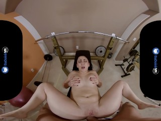 BaDoinkVR.com PAWG Teen P.T. Mandy Muse Gives You Hard Anal Gym Workout