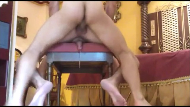 Free twink rimjobs Hands-free cum while getting raw fucked
