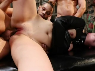 Yes Master: Miranda Miller Gets Gangbanged in Bondage