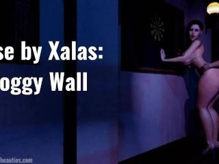 Doggy Wall (Rebecca takes it hard)