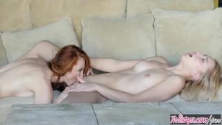 Twistys - Ginger milf Kendra James teaches Aurora Belle
