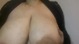 Amautur Latina BBW Huge Natural 42DD Bouncing Boob Drop Play
