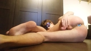Anal Orgasm of Teen Boy - Hands Free Cum