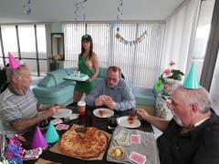 : BANGBROS - Old Man Roger Is Turning 68, So We Got Him Barista Akira Shell