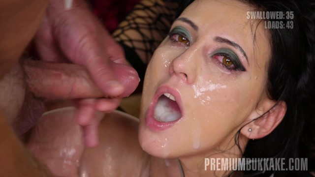 Sherri shepard naked - Premium bukkake - sherry vine swallows 66 huge mouthful cumshots