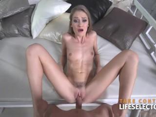 Beauty contestant Tiffany is willing to fuck her way to success POV