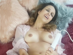 Beautiful Agony - Cumming Hard with a Hitachi