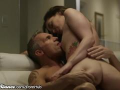 SweetSinner Gia & Stepdad Have Romantic, Sensual Sex