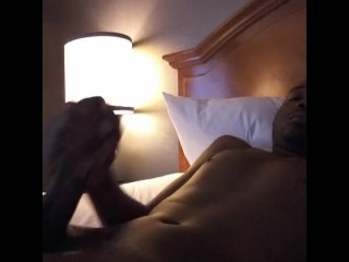 caught jerking off huge dick in my hotel room