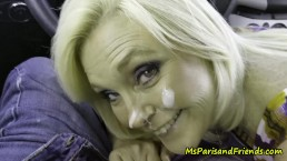 Ms Paris Loves Her Creampies and Facials
