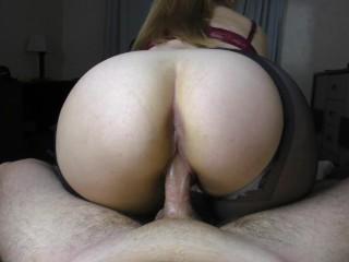 Teen Big Ass PussyJob Pantyhose