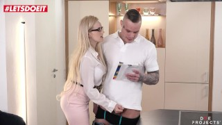 Filthy Big Tits Tutor Angel Wicky gets fucked by student