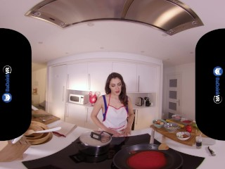 BaDoinkVR Cooking And Fucking Class With Big Titted Babe Valentina Nappi