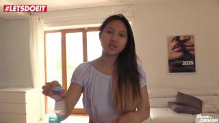 Cute Thai has Pussy Fingering Orgasm Solo (HD) Masturbation natural