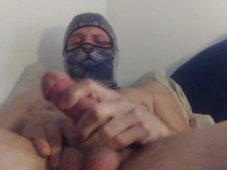 Edged precum leaking cock wants to cum