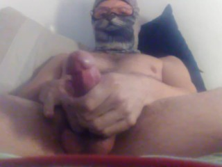 I love feeling my slick edged cock plump and harden in my hands while watch