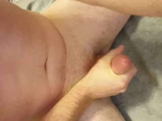 Masturbation Cumshot While Watching Wait for the MOANS!