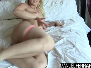 Manuel Ferrara - Anikka Albrite Drenched In Manuel's Cum!